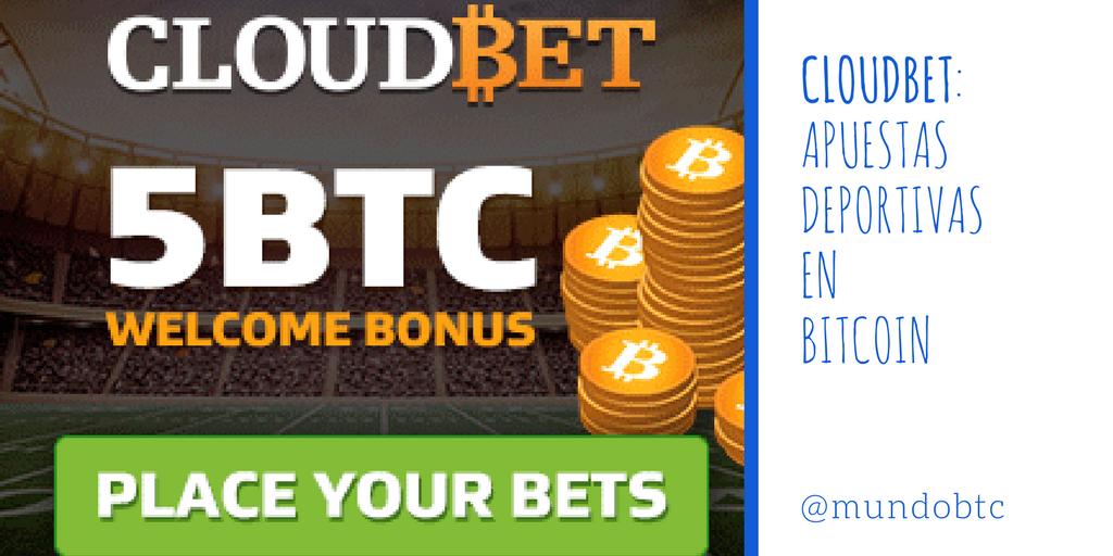 Cloudbet: Apuestas Deportivas en Bitcoin