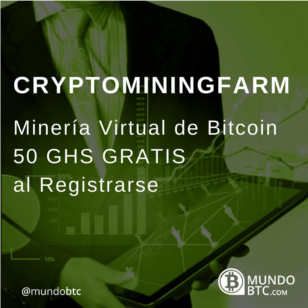 Cryptominingfarm Minado Virtual de Bitcoin