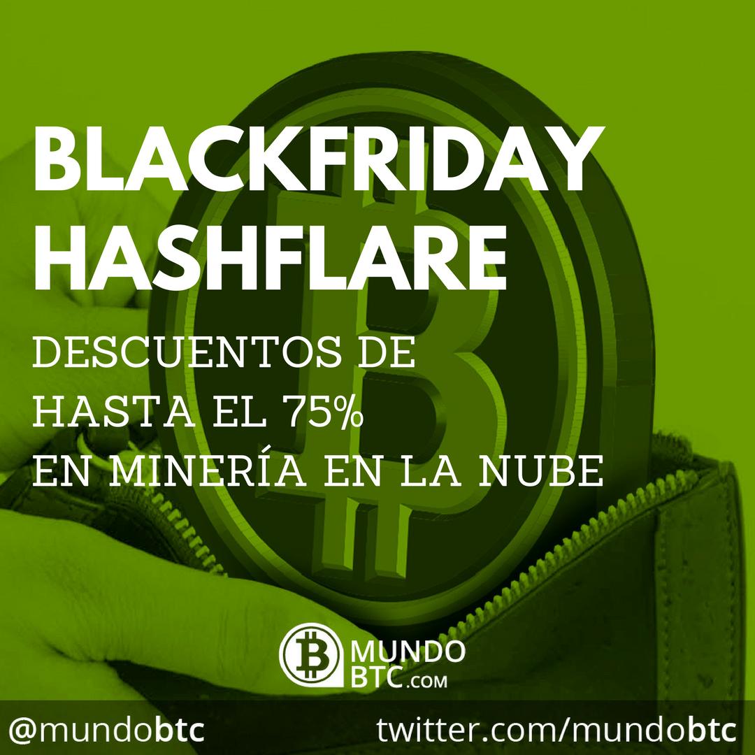 Black Friday en Hashflare de Hasta el 75% de Descuento