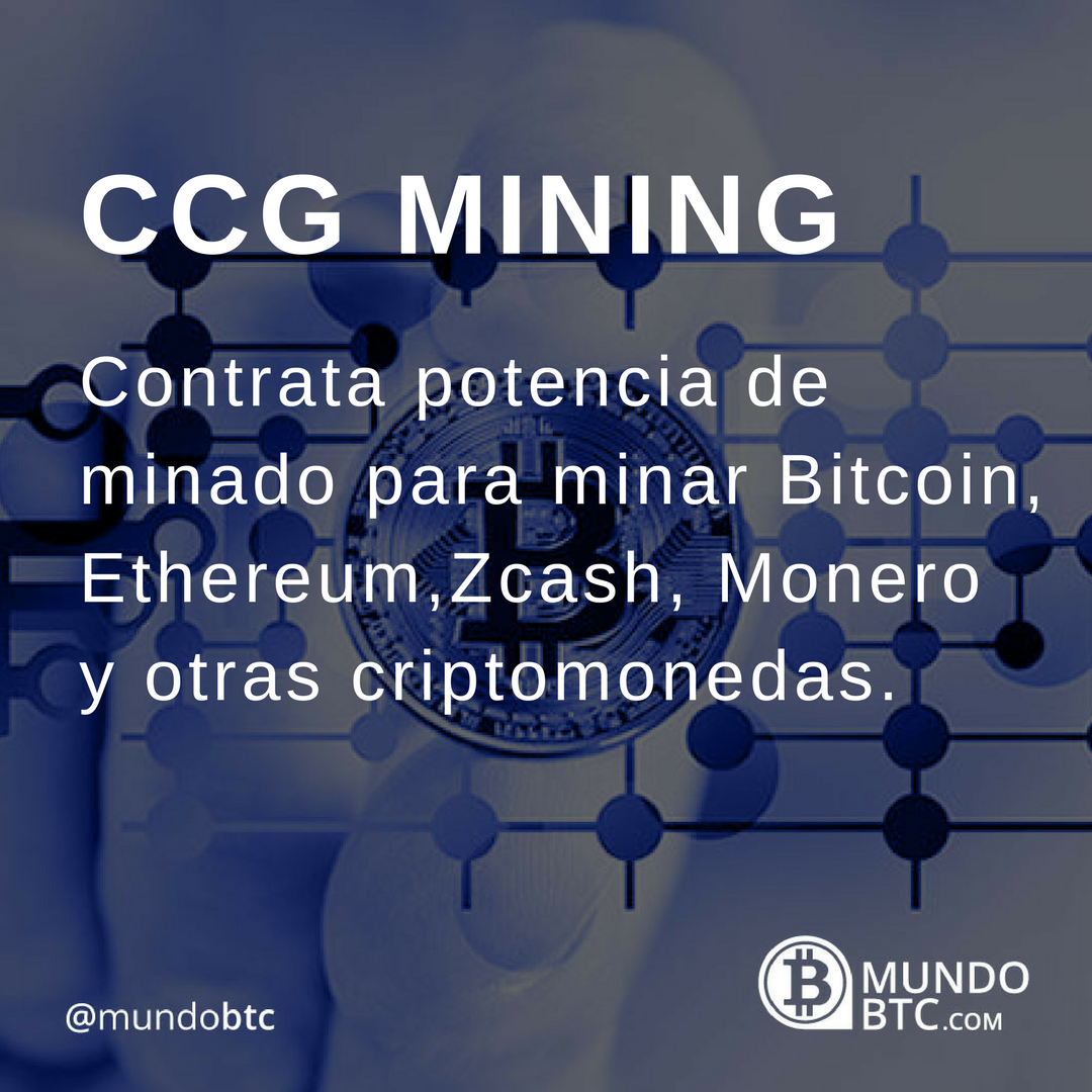 CCG Mining: Minado de Criptomonedas en la Nube