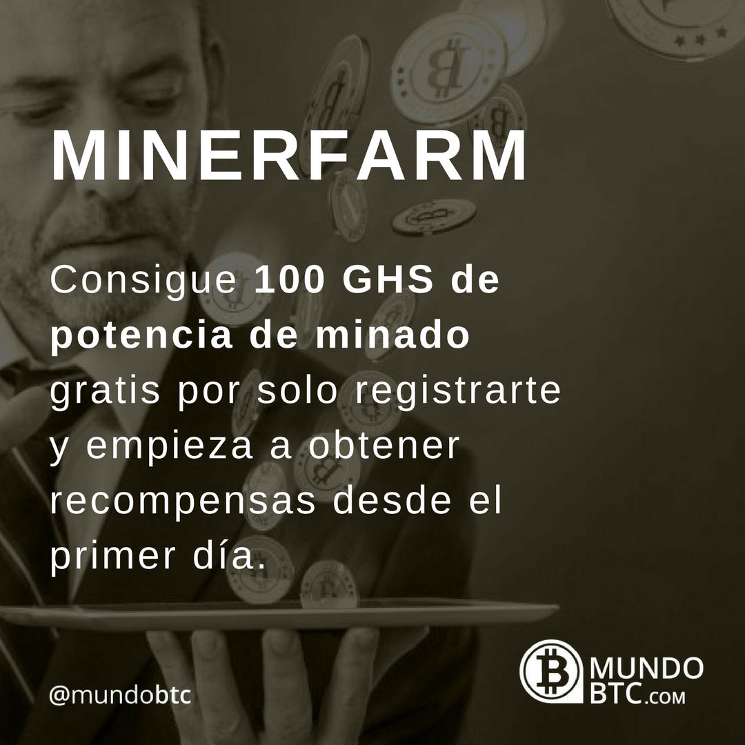 Minerfarm: 100 GHS GRATIS