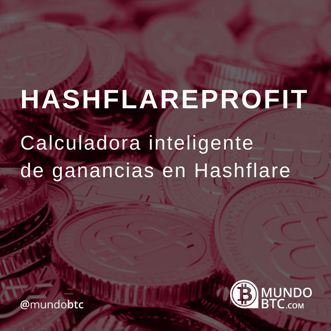 Hashflareprofit Calculadora de Ganancias en Hashflare