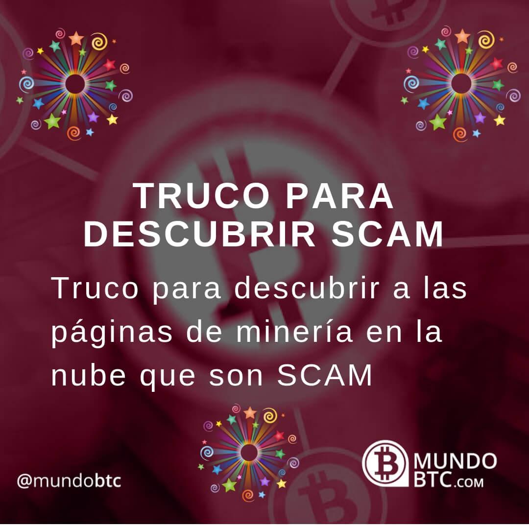 Detecta SCAM