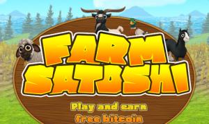 Farm Satoshi, un juego para ganar Bitcoin difícil, pero divertido